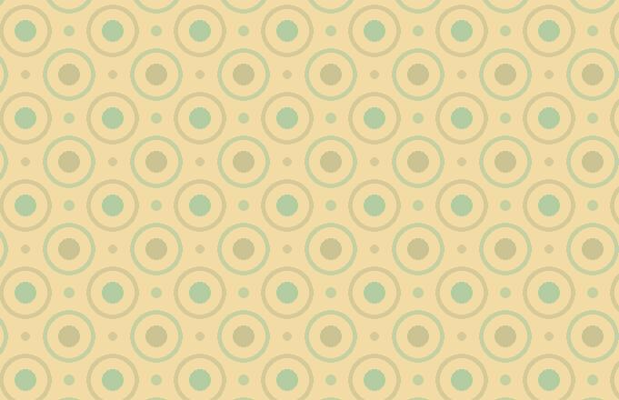 Circles And Dottes Pattern