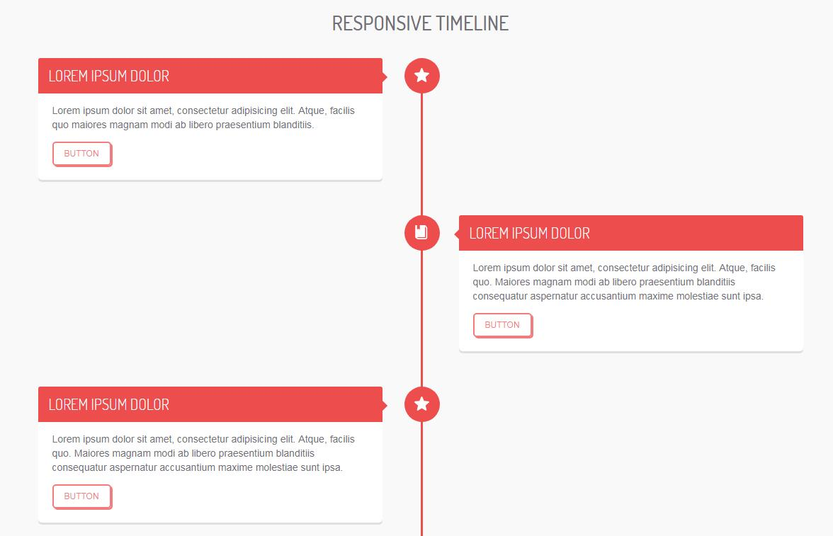 Timeline for a personal project with CSS