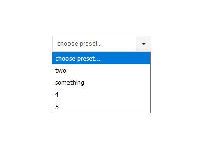 Lightweight unobtrusive and custom style select boxes with jQuery
