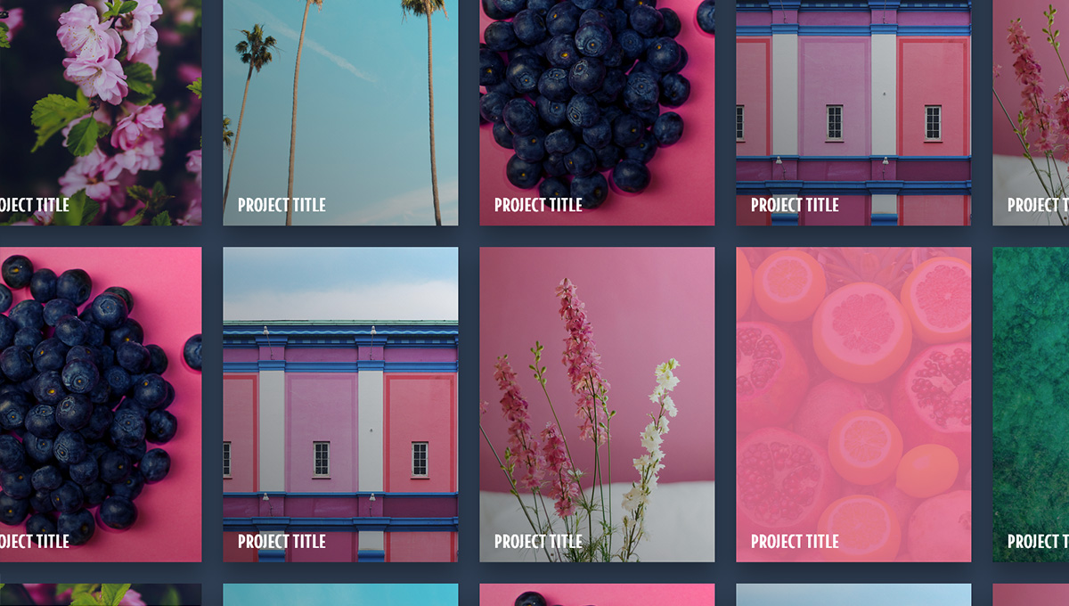 Used parallax.js to set up this interactive panning image grid